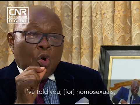 Oquaye vows to resign if Ghana decriminalises homosexuality