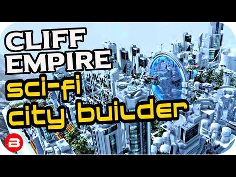 Cliff Empire: ▶StarGate in First City!!◀ Futuristic City Building Game #1 (Alpha)