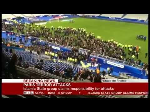 BBC TV: Paris Terror Attacks (13 November 2015)