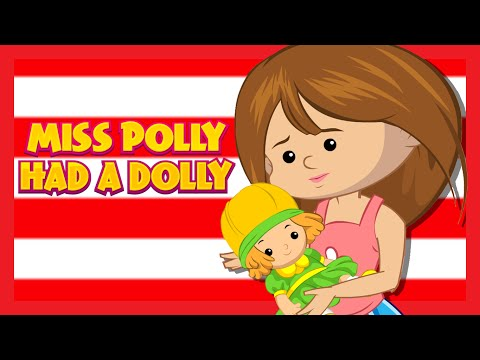 'Miss Polly Had A Dolly' NURSERY RHYMES COLLECTION   Kids Hut