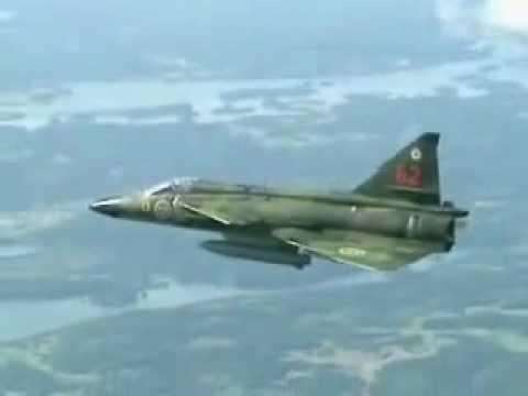 SAAB J-37 Viggen of Sweden Demo