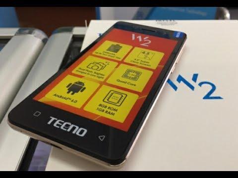 Tecno W2 unboxing & Specs فتح علبة ومواصفات