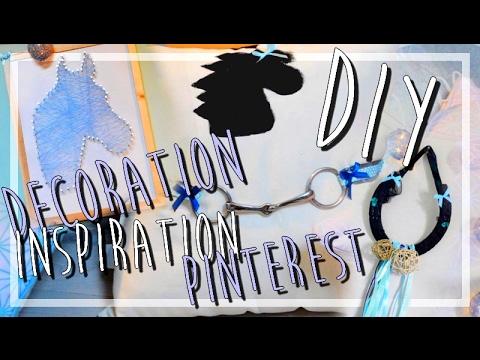 DIY Spécial Cheval ! 🐴 : Décoration inspiration Pinterest ! ✄