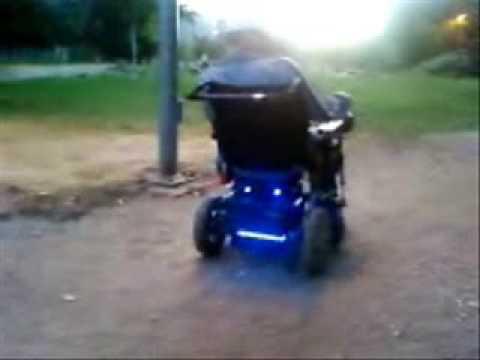 silla de ruedas tuning