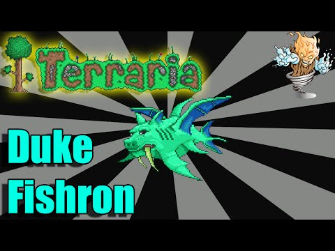 How to Defeat Duke Fishron - Terraria Helping Hand