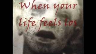 Black Veil Brides - Never Give In (Lyrics And Slide)