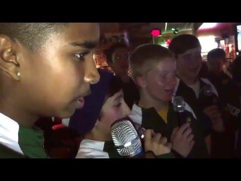 RT Basketball Karaoke.