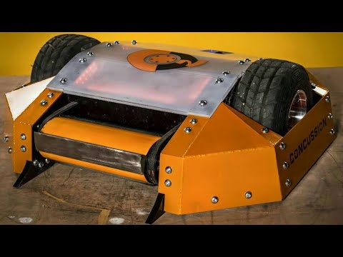 Concussion - Series 9 All Fights - Robot Wars