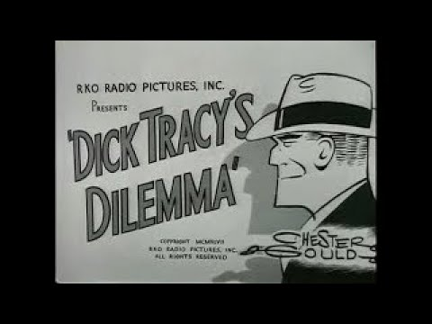 DICK TRACY'S DILEMMA (1947) Ralph Byrd - Lyle Latell - Kay Christopher