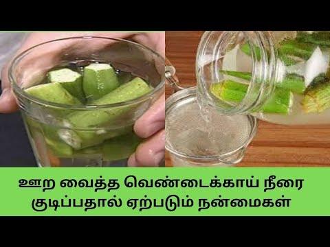 ஊற-வைத்த-வெண்டைக்காய்-நீரை-குடிப்பதால்-ஏற்படும்-நன்மைகள்-|-okra-water-benefits