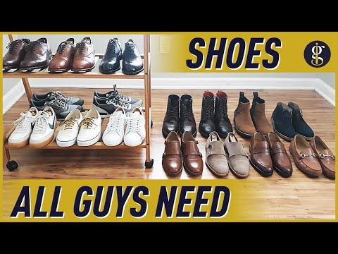 SHOE ESSENTIALS For Men | 9 Shoes Every Guy Needs (My Collection)