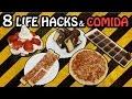 8 Life Hacks Con Comida en Español - Trucos en la vida real