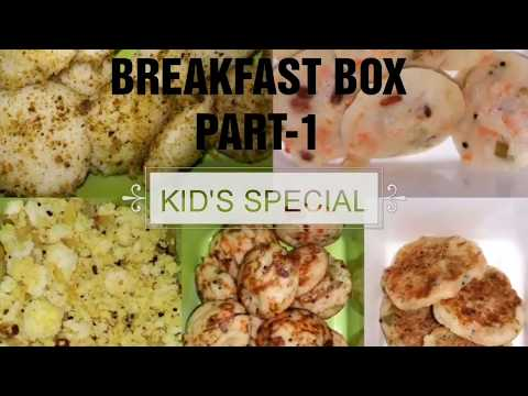 Kid's Breakfast Box | Healthy Recipes | Quick and Easy Recipes for Toddlers & Kindergarten