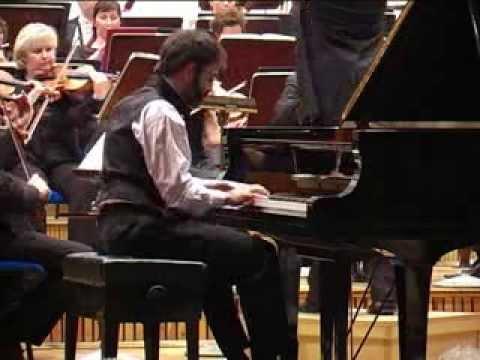 Ravel, Piano Concerto in G, I. Allegramente, Paul Gulda (Piano), Dariusz Mikulski (Conductor)