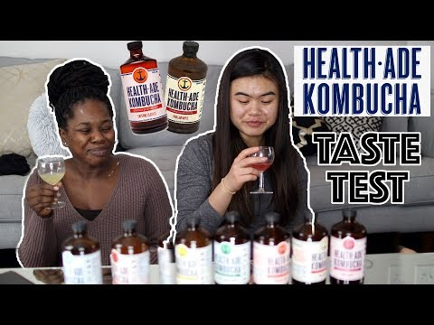 HealthAde Kombucha Taste Test! And a word on Chick Fil A | VLOGMAS Ep 2|| TheAdeTomi