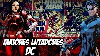 [Central HQs] Top 10 Artistas Marciais DC Comics
