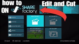 HOW EDIT AND CUT CLIPS ON SHAREFACTORY IN 2020!!!
