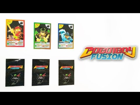 Eh? Boboiboy Fusion Cards ?!