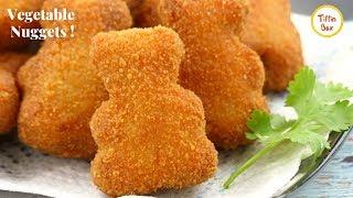 Homemade Veggie Nuggets Recipe for Kids tiffin Box | Mix Vegetable Chop | Vegetable Nuggets Recipe