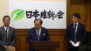 2017年11月29日(水) UR完全民営化推進法案提出後の記者会見