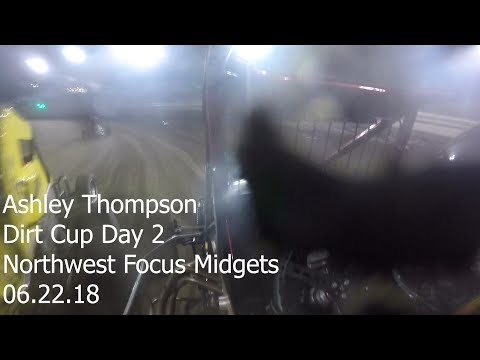 Ashley Thompson Dirt Cup Day Two - Skagit Speedway 06.22.18