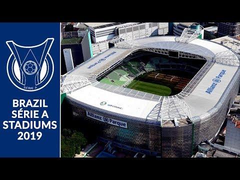 Brazil Série A Stadiums 2019
