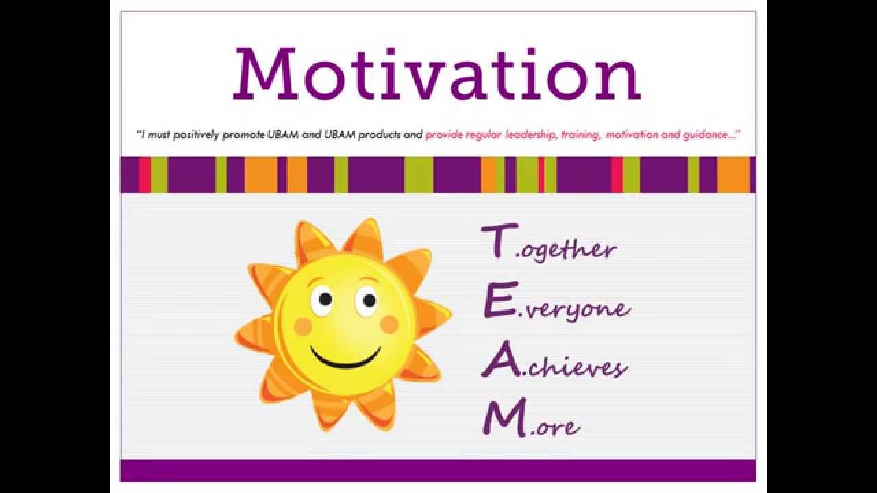 team leader how to motivate a team