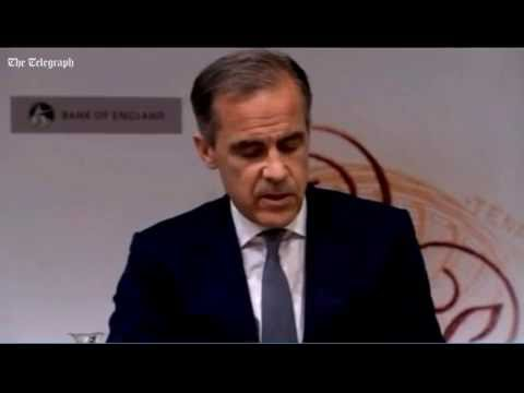 Governor of Bank of England, Mark Carney, on interest rates cut