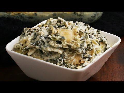 Cheesy Spinach Artichoke Ravioli Bake