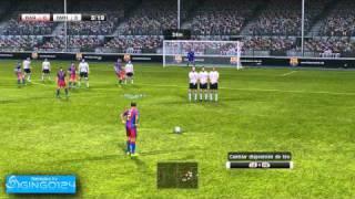 Pro Evolution Soccer 2011 Demo PC Gameplay