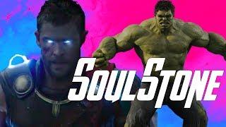 Hela w/the Soul Stone & the MCU New Blue Power of Thor - Thor Ragnarok