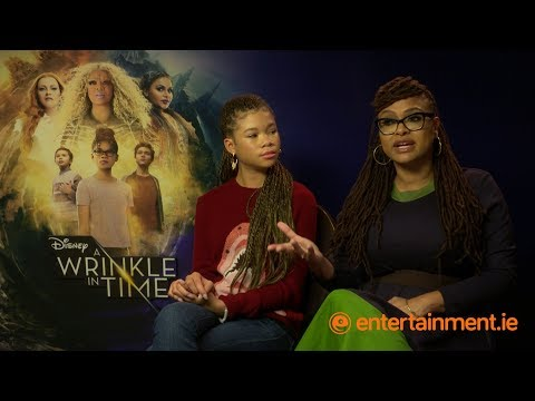 Storm Reid & Ava DuVernay on making A Wrinkle in Time