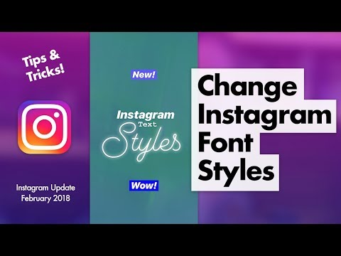How to change the font in your instagram story