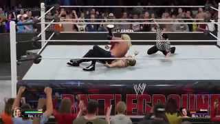 WWE 2K15 - DDP Hits The Diamond Cutter