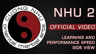 Cuong Nhu - Nhu 2 - Official Kata - Learning & Performance Speed - Side View