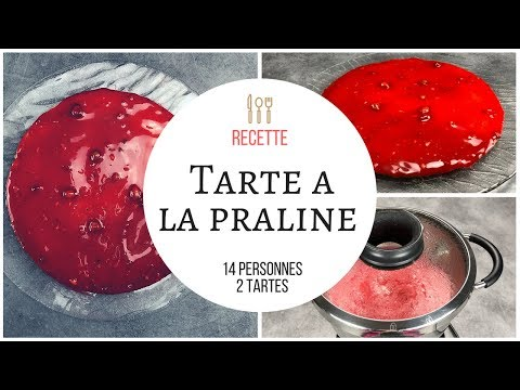 tarte a la praline rose lyonnaise cook expert magimix et. Black Bedroom Furniture Sets. Home Design Ideas