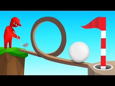 Golf BUT It Is Human Fall Flat?