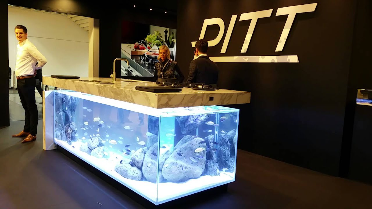 Kitchen Island Fish Tank ocean kitchenrobert kolenik - youtube