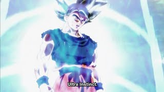 Ultra Instinct Goku And Kefla Gets Ready For Their Fight - Dragon Ball Super (English Sub)