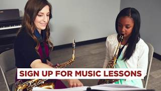 Music Lessons at Music & Arts