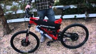 50 MPH 8000W AWD Electric Offroad Mountain Bike First Drive