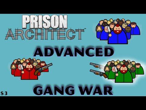 The Final Struggle - Prison Architect Advanced Gang Warfare |
