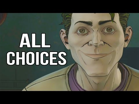 Batman Telltale Episode 4 - All Choices/ Alternative Choices and Ending
