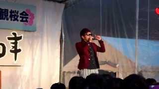 HIKAKIN LIVE!! 高田城百万人観桜会、高田公園さくらステージで行われた...