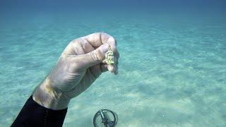 🌊💍 Не Нашёл в море iPhone, но Нашёл Золото, Серебро-Райское Место! Подводный поиск.
