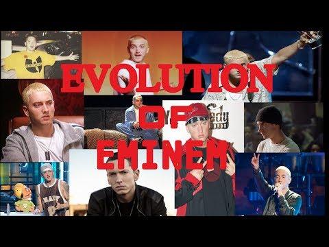 Evolution of Eminem (1996-2014)