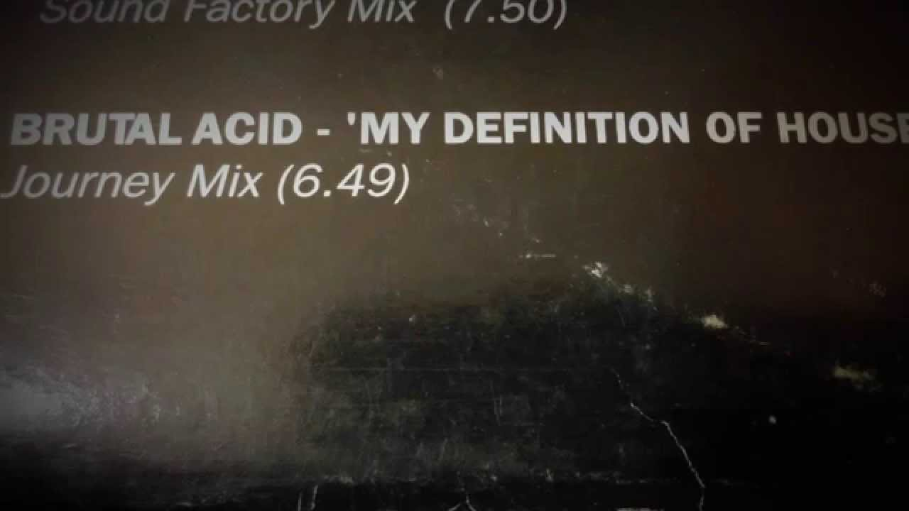 Brutal acid my definition of house journey mix youtube for Acid house mix