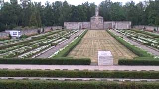 011 Riga Latvia brothers cemetery bralu kapi.AVI