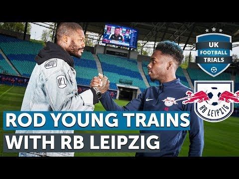SEMI-PRO PLAYER TRAINS WITH RB LEIPZIG!