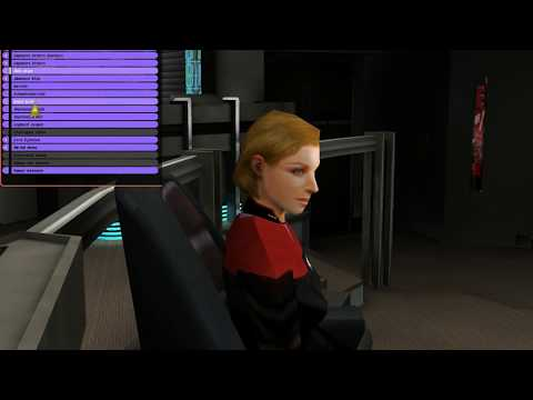 Bridge Commander Voyager against 4 Kazon vessels